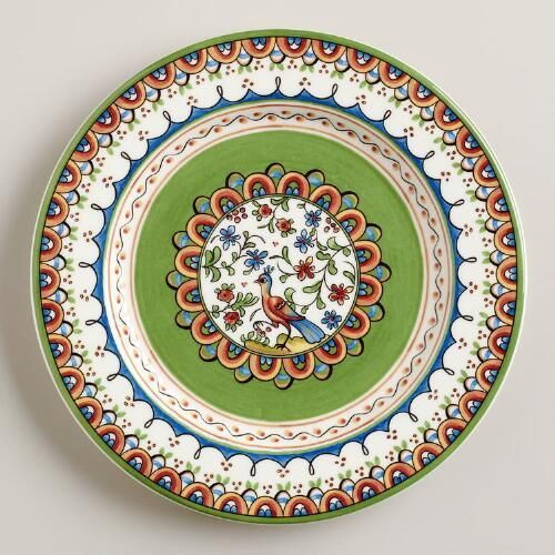 One of my favorite discoveries at WorldMarket.com: Passaro Salad Plates, Set of 4