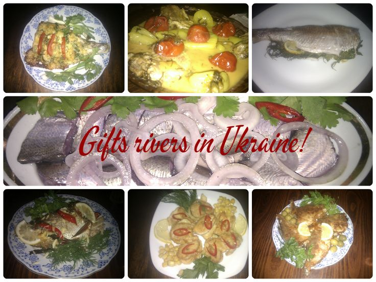 Gifts rivers in Ukraine!