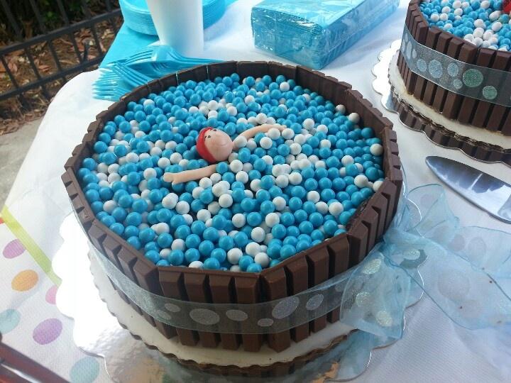Best 50 Cool Pool Cakes Images On Pinterest Birthdays Petit