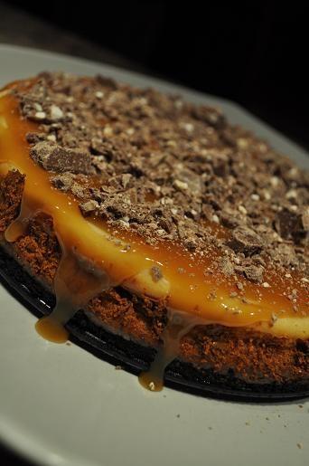 Toblerone cheesecake.