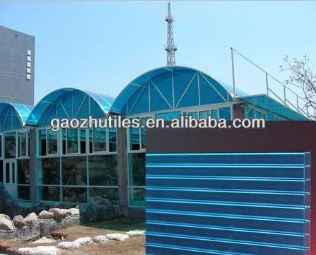 Building materials u profile plastic makrolon 2mm thick polycarbonate sheet/pool side wall tiles