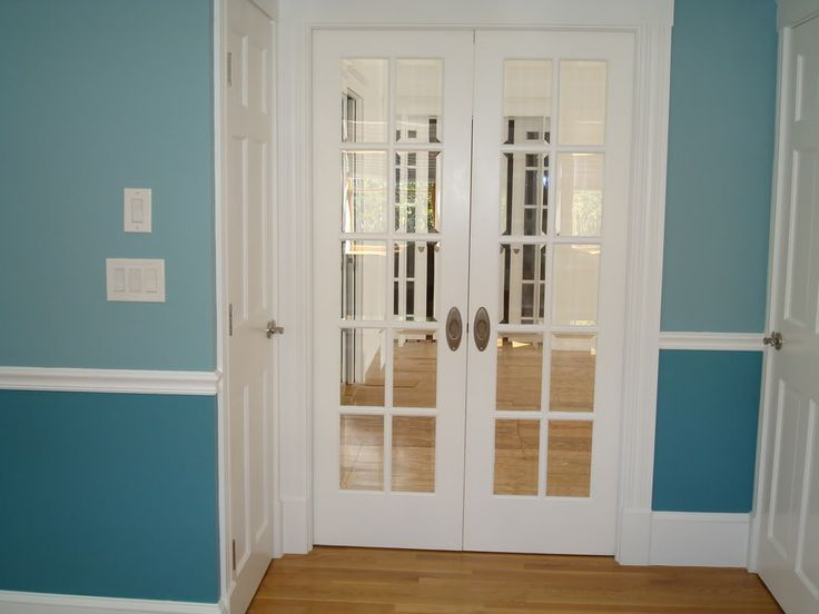 We Had Those From Living Room Into Dining In A Previous Home An Old Frosted Glass DoorGlass