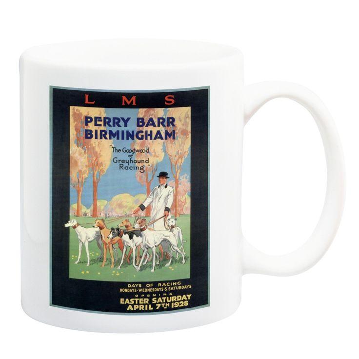 Perry Barr Greyhound Racing LMS Railway Mug