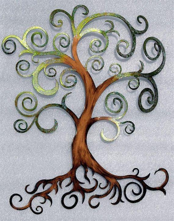 Tree of Life Metal Wall Art by HumdingerDesignsEtsy on Etsy