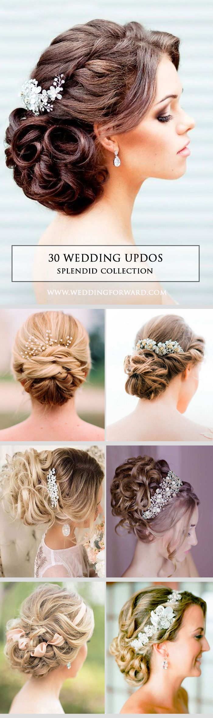 Splendid Wedding Updos Collection ❤ If you are looking for the perfect hairsty...