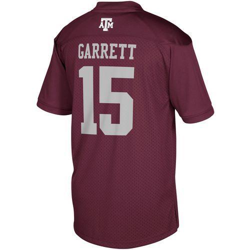Adidas Men's Texas A&M University Myles Garrett 15 NCAA Alumni NFL Player Replica Jersey (Red Dark, Size
