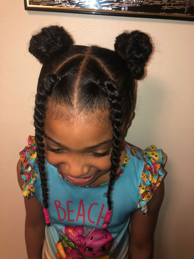 Simple mixed kid hair style in 2020   Kids hairstyles, Hair styles, Twist ponytail