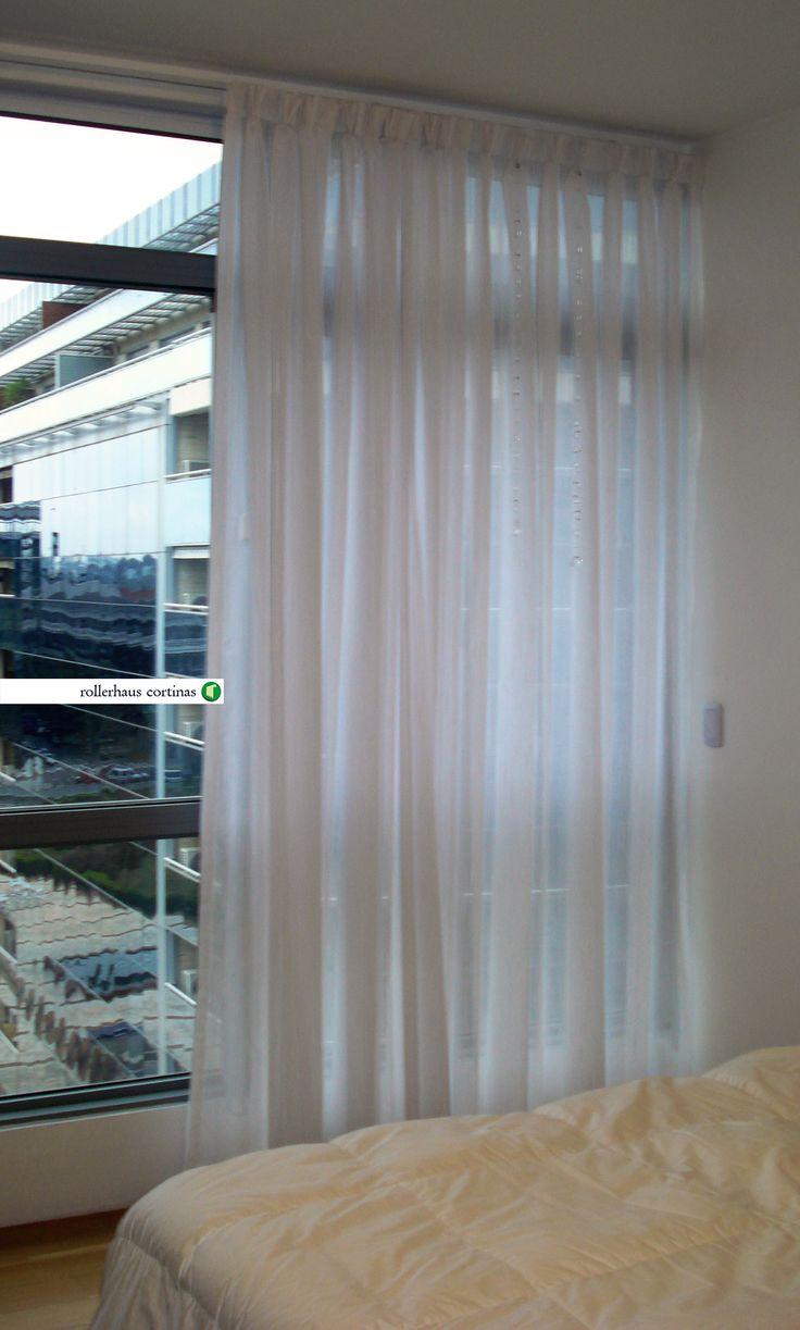 Delicadas y modernas cortinas de voile. Podés tener la tuya. https://www.facebook.com/rollerhauscortinas Asesoramiento y presupuestos en rollerhauscortinas@outlook.com