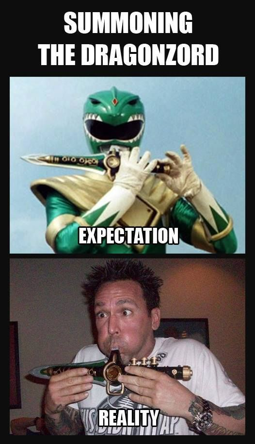 Summoning the Dragonzord. Jason David Frank is AWESOME!! Go Go Power Rangers!