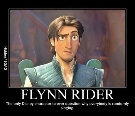 That's why he's my favorite. You go Flynn