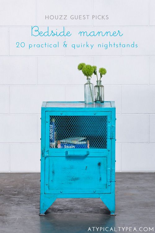 elias bedside peacock blue moroccan guest picks bedside tables httpwwwatypicaltypeacom20130625guestpicksbedsidetables for the home pinterest tables nightstands and bright httpwwwatypicaltypeacom20130625