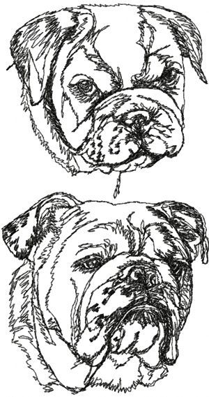 436 best stempel honden images on pinterest