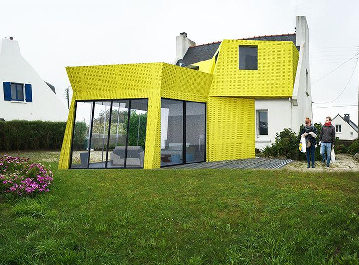 Maître du0027ouvrage  Privé Architectes  Franck LABBAY et Diana AUCHET - Combien Coute Une Extension De Maison