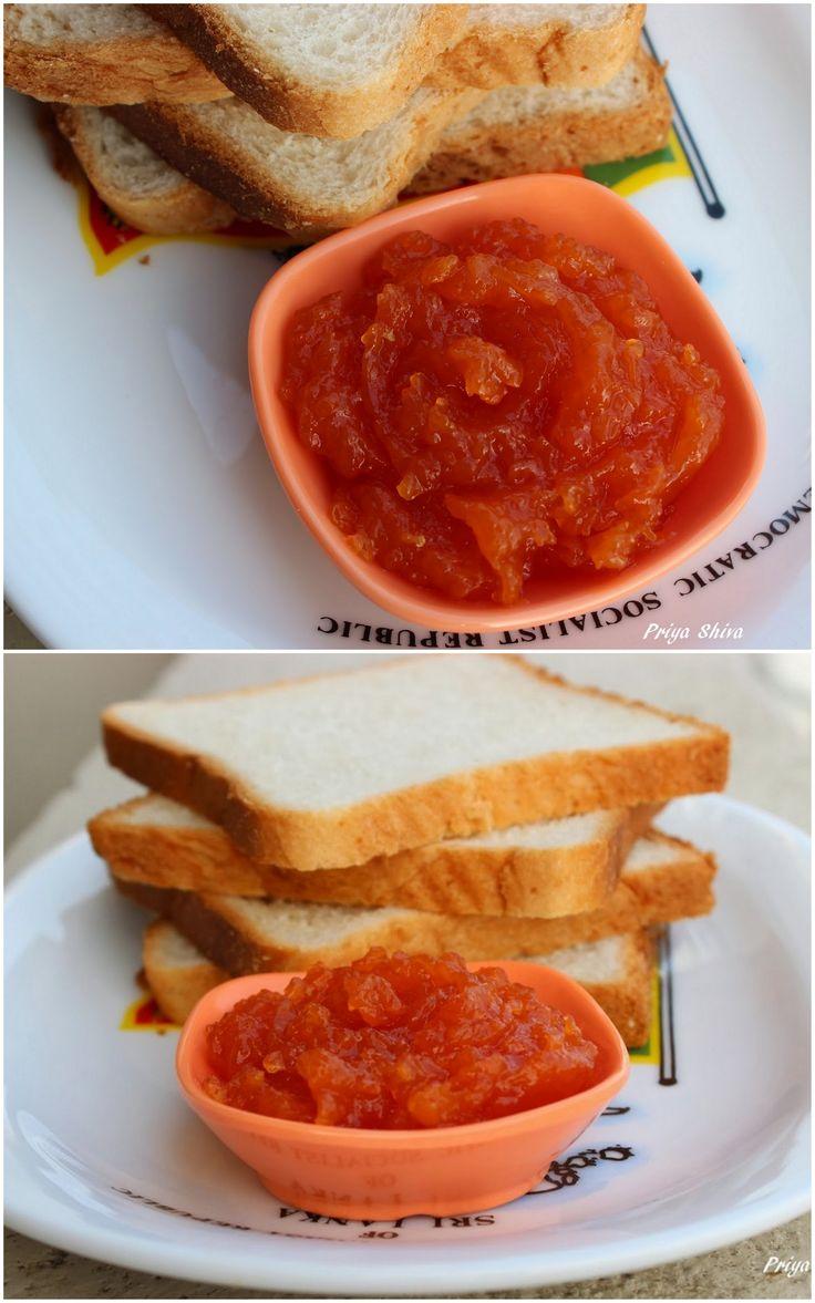 Easy Papaya Apple Jam #recipe