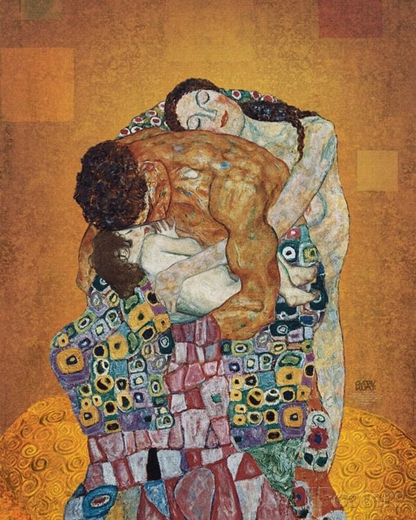 The Family // by Gustav Klimt