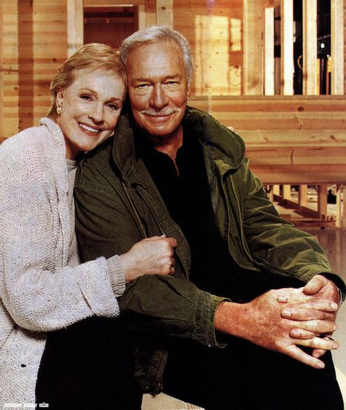 Julie Andrews and Christopher Plummer Character and talent are HIGH fashion.