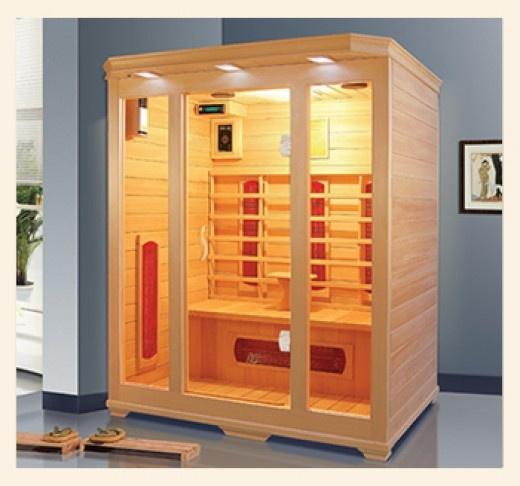 I want a home sauna.