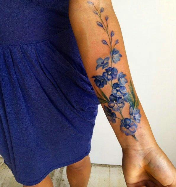 Bluebonnet tattoo