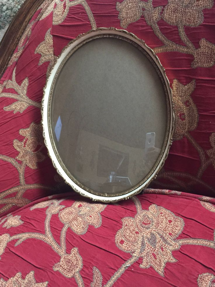 French Country Shabby Chic Ornate Oval  picture frame by FrenchCountryGirl on Etsy