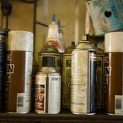 How to Spray Paint Wood Furniture a Dark Brown Color | eHow