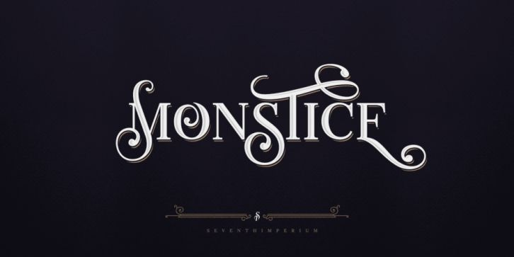 Monstice Font DOWNLOAD | Best Fonts | Fonts, Poster fonts
