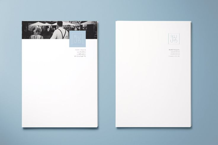 Branddesign, logo, huisstijl fotograaf #brandidentity #blue #minimal studio OCHER
