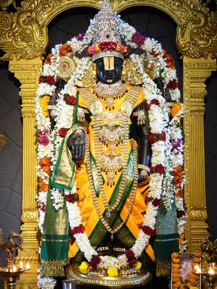 Daily Darshan (23-12-12) Lord Balaji @ISKCONPune