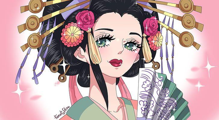 Anime One Piece Komurasaki One Piece Hd Wallpaper One Piece Anime Anime One Piece