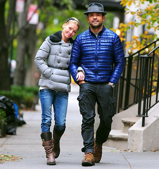 Kelly Ripa and hubby Mark Consuelos caught in the act...of walking around the city...