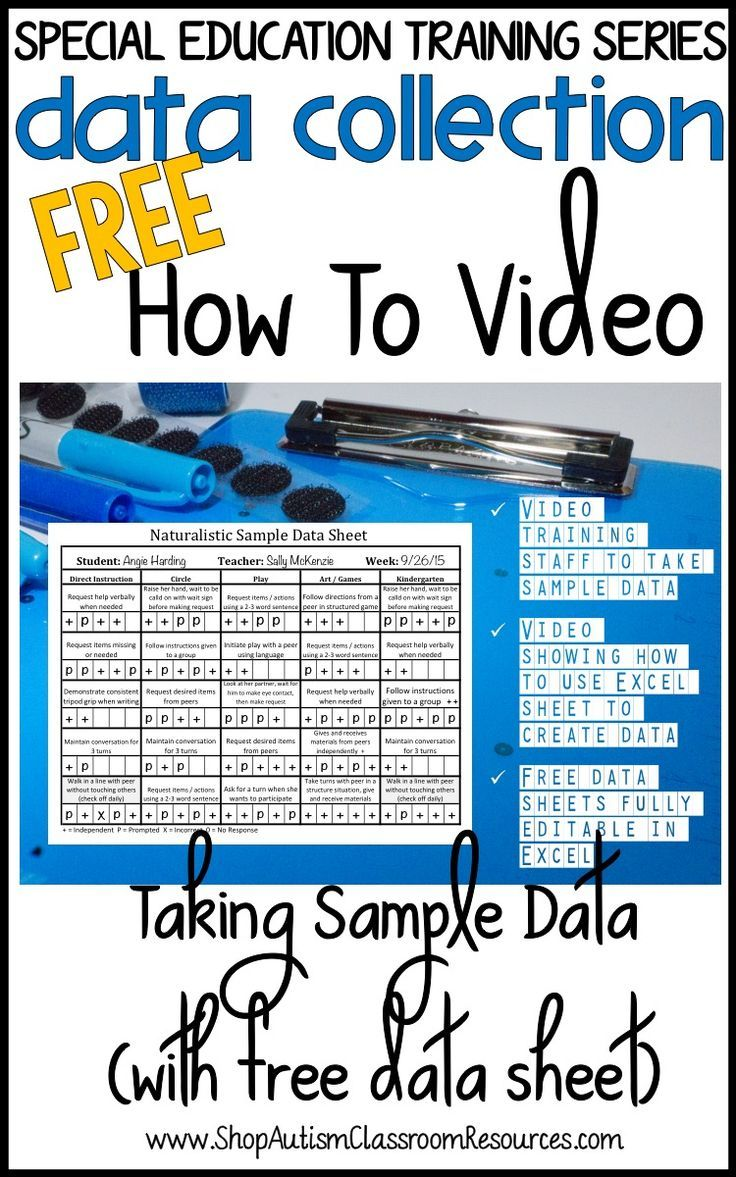 Collaborative Classroom Data : Best data collection images on pinterest autism