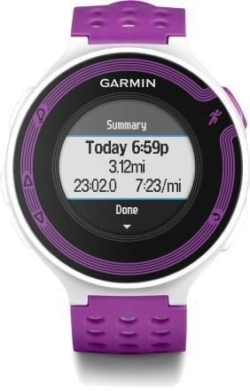 Heart rate monitor, fitness watch. Looks great, but I HATE purple and it isn't available in pink or orange.Grrrrrrrr....