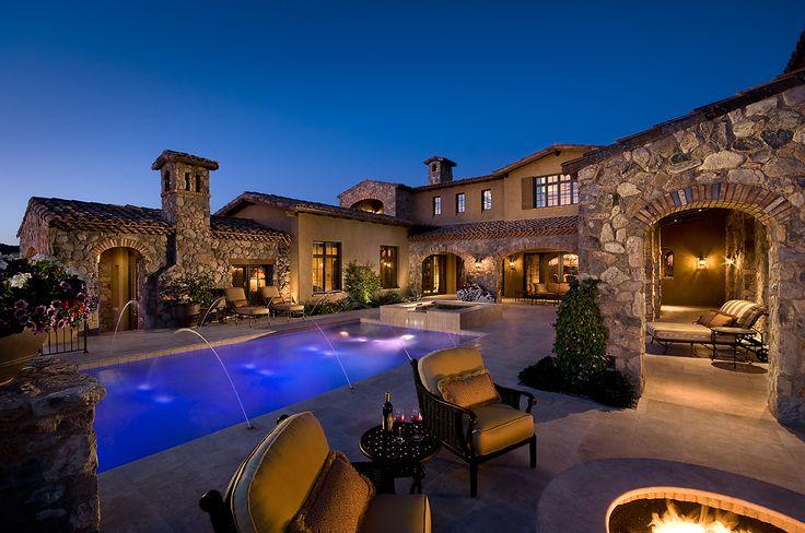 Silverleaf Sanctuary by Calvis Wyant Luxury Homes #luxury #custom_home #Arizona