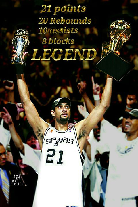 991165d391fb 15 years ago today the great Tim Duncan nearly quadruple doubled against  the New Jersey Nets in the NBA Finals to clinch the champ…