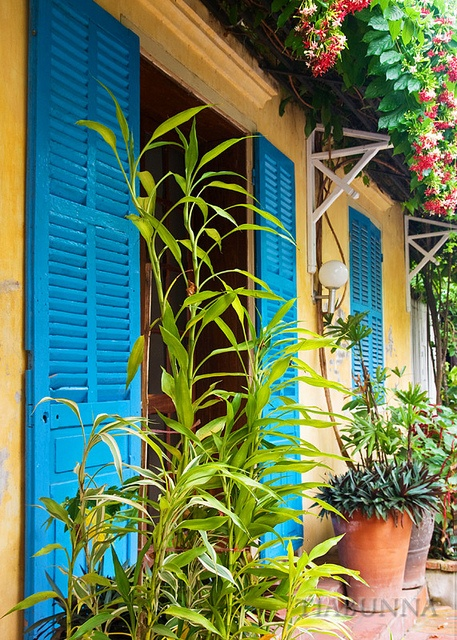 """Indochine  Luang Prabang was one of the provincial capitals in French Indochina. The old """"Indochine"""" is still easily found in many of the old colonial style buildings in this lovely World Heritage listed town."""