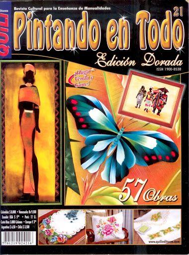 Pintando en Todo N°21Edicion Dorada - Mary. XXI - Álbumes web de Picasa