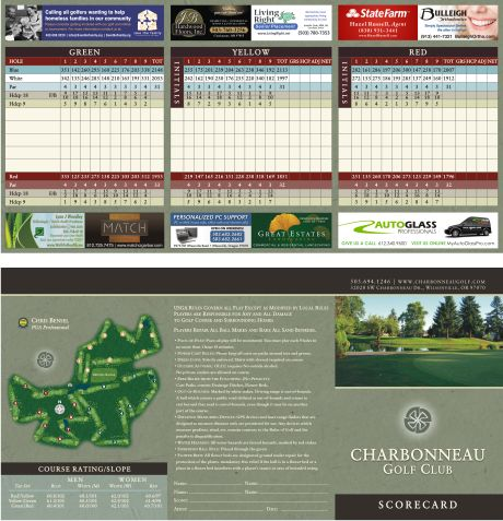 9 best golf scorecards by bench craft company images on for Bench craft company fraudsters