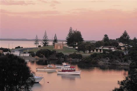 Lake Butler in Robe, South Australia. We had the most relaxing holiday here. Great place