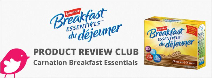 New+Product+Review+Club+Offer:+Carnation+Breakfast+Essentials+/+Les+Essentiels+du+déjeuner+Carnation
