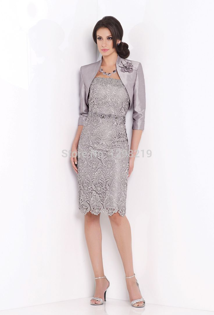 Купить товарИндивидуальные серый кружева колен матери невесты кружевные платья элегантный пиджак атласная пальто элегантные вечерние ну вечеринку формальные платье в категории Мамам молодожёновна AliExpress.                Бразильский друзей                   Пожалуйста, обратите внимание: пожалуйста, оставьте ваш СПС на ваш з