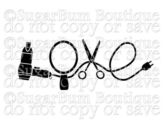 "This is a digital download of ""Love Hairdresser Hair Stylist"" SVG cutting file. With this purchase you will receive this image in SVG format, suitable for use in programs such as Cricut Design Space and Silhouette Designer Edition. This is not a true type font or open type font; it has already been converted to vector outline.  Please note that this is a DIGITAL DOWNLOAD file with no physical product included. These files are available for PERSONAL and SMALL BUSINESS COMMERCIAL use. Please…"