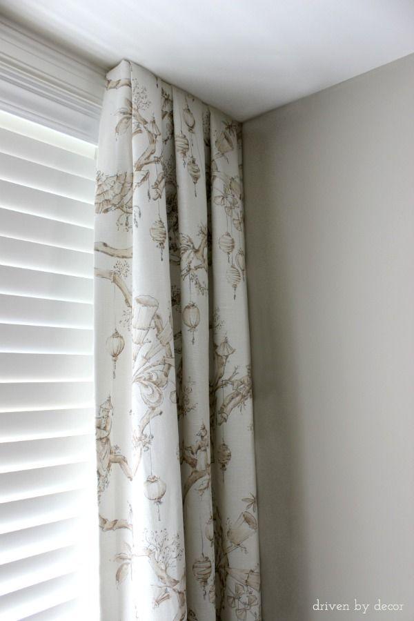 25 Best Ideas About Corner Window Treatments On Pinterest Corner Windows Corner Window