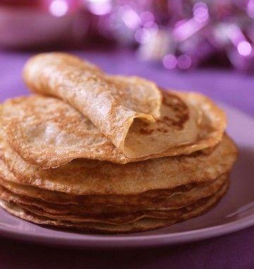 Photo de la recette : Crêpes aux flocons d'avoine