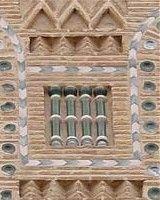 Columnitas de cerámica mudejar