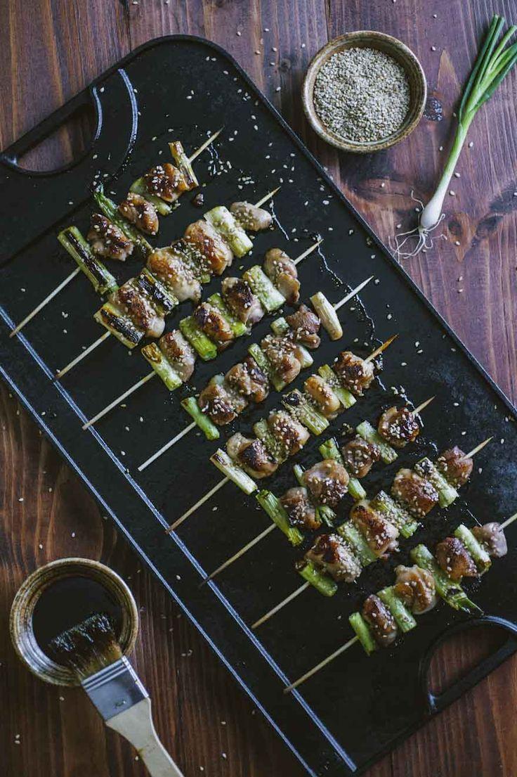 Yakitori: Gli #yakitori sono deliziosi #spiedini di tradizione #giapponese, conosciuti e preparati in tutto il mondo. #Pollo, salsa #teriyaki: una bontà!