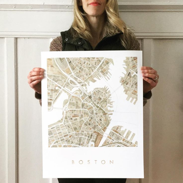 Just in time...The Boston Watercolor City Blocks Map is available and I can ship it out today for a timely Christmas arrival (in the domestic US) if you order in the next hour. I'm shipping at 3pm PST. Thank you! Find it in my website Shop (link in profile) or #Etsy: https://www.etsy.com/listing/500100839/boston-map-watercolor-print-city-block  https://www.etsy.com