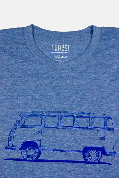 Kombi por Forest  http://followtheforest.com/poleras/207-camioneta-ford-1950-por-forest.html