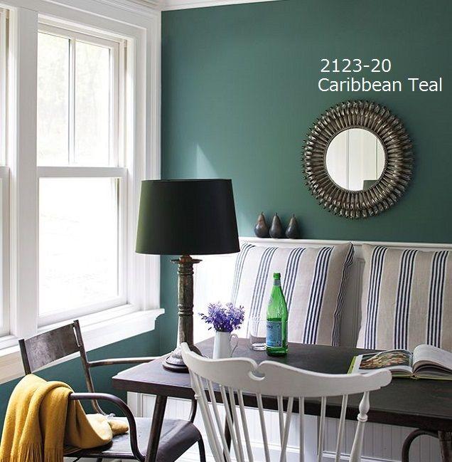 "Tuesday Trend Benjamin Moore 2014 Color Trends: Aura 2123-20 ""Caribbean Teal"" 0.9L"