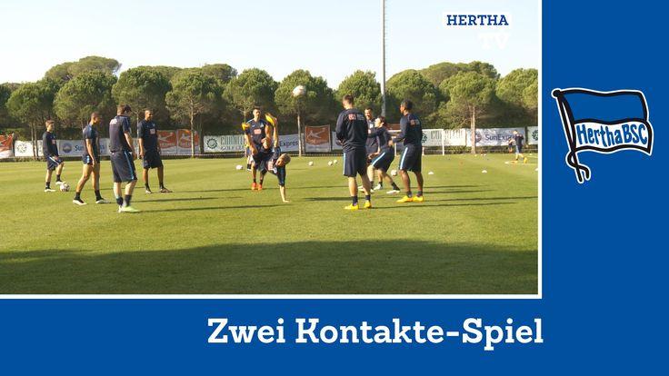 Zwei Kontakte - Hertha BSC - Bundesliga - Berlin #belekbsc #hahohe