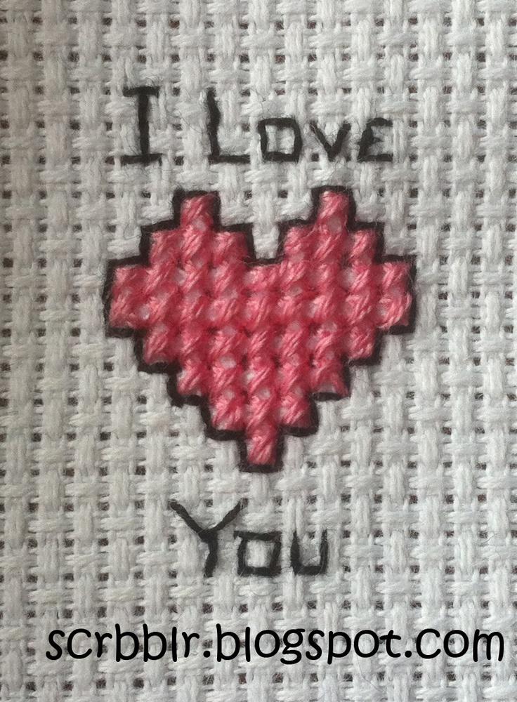 very easy cross stitch pattern