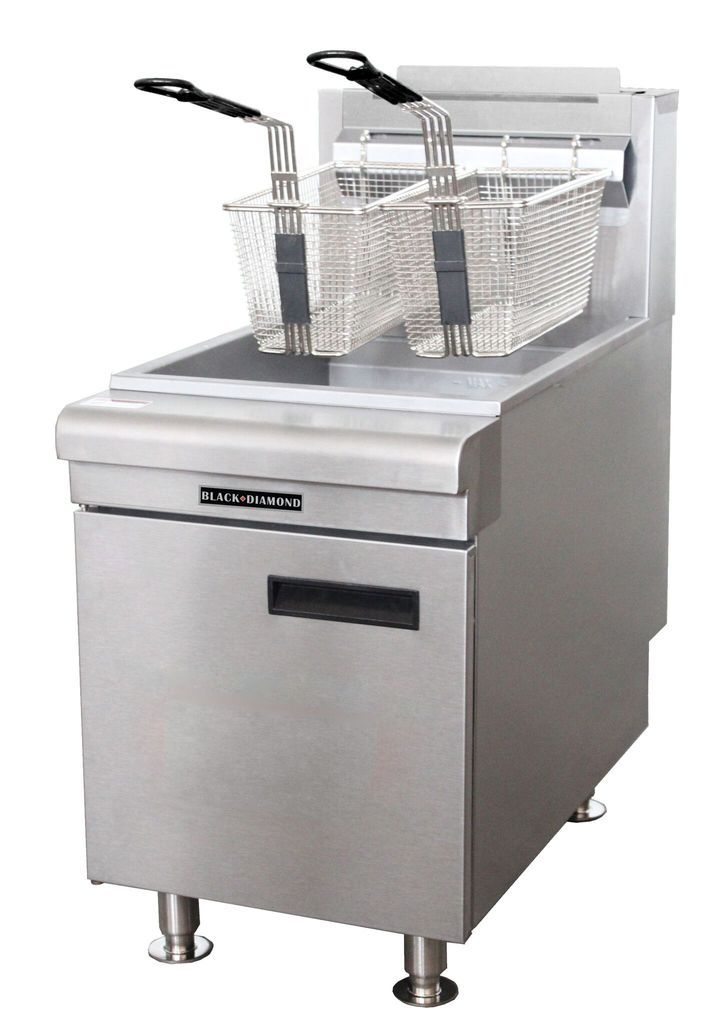 Commercial Kitchen Countertop Lp Gas Fryer 60 000 Btu In 2019